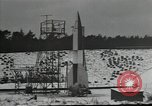 Image of A-4 missile Peenemunde Germany, 1942, second 10 stock footage video 65675037448