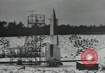 Image of A-4 missile Peenemunde Germany, 1942, second 11 stock footage video 65675037448