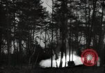 Image of German V-2 missile is launched in a forest Blizna Poland, 1944, second 2 stock footage video 65675037460