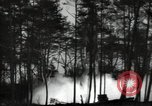 Image of German V-2 missile is launched in a forest Blizna Poland, 1944, second 3 stock footage video 65675037460