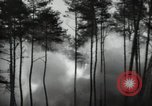 Image of German V-2 missile is launched in a forest Blizna Poland, 1944, second 5 stock footage video 65675037460