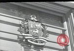 Image of Swiss embassy Washington DC USA, 1952, second 1 stock footage video 65675037490