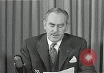 Image of Dean Acheson Washington DC USA, 1950, second 2 stock footage video 65675037499