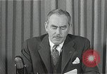 Image of Dean Acheson Washington DC USA, 1950, second 4 stock footage video 65675037499