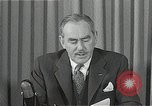 Image of Dean Acheson Washington DC USA, 1950, second 7 stock footage video 65675037499