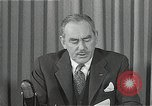 Image of Dean Acheson Washington DC USA, 1950, second 10 stock footage video 65675037499