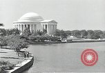 Image of Thomas Jefferson Memorial Washington DC USA, 1940, second 1 stock footage video 65675037505