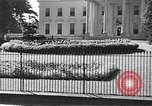 Image of White House building Washington DC USA, 1940, second 1 stock footage video 65675037509