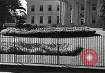 Image of White House building Washington DC USA, 1940, second 3 stock footage video 65675037509