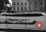Image of White House building Washington DC USA, 1940, second 4 stock footage video 65675037509