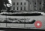 Image of White House building Washington DC USA, 1940, second 5 stock footage video 65675037509
