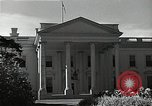 Image of White House building Washington DC USA, 1940, second 6 stock footage video 65675037509