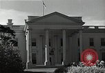 Image of White House building Washington DC USA, 1940, second 8 stock footage video 65675037509