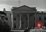 Image of White House building Washington DC USA, 1940, second 10 stock footage video 65675037509