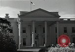 Image of White House building Washington DC USA, 1940, second 12 stock footage video 65675037509