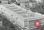 Image of US Department of Commerce Building Washington DC USA, 1952, second 1 stock footage video 65675037510