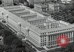 Image of US Department of Commerce Building Washington DC USA, 1952, second 2 stock footage video 65675037510