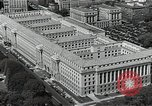 Image of US Department of Commerce Building Washington DC USA, 1952, second 4 stock footage video 65675037510