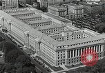 Image of US Department of Commerce Building Washington DC USA, 1952, second 10 stock footage video 65675037510