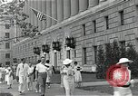 Image of Department of Labor building Washington DC USA, 1936, second 5 stock footage video 65675037511