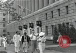 Image of Department of Labor building Washington DC USA, 1936, second 6 stock footage video 65675037511
