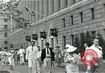 Image of Department of Labor building Washington DC USA, 1936, second 8 stock footage video 65675037511