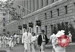 Image of Department of Labor building Washington DC USA, 1936, second 9 stock footage video 65675037511