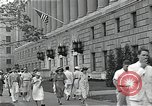 Image of Department of Labor building Washington DC USA, 1936, second 12 stock footage video 65675037511