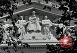 Image of National Archives building Washington DC USA, 1952, second 2 stock footage video 65675037512