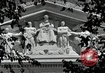 Image of National Archives building Washington DC USA, 1952, second 5 stock footage video 65675037512