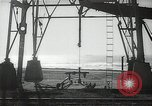 Image of oil derricks Huntington Beach California USA, 1938, second 5 stock footage video 65675037514