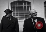Image of Warden and Officersl Alcatraz island California USA, 1947, second 7 stock footage video 65675037522