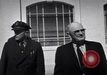 Image of Warden and Officersl Alcatraz island California USA, 1947, second 8 stock footage video 65675037522