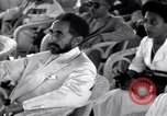 Image of Emperor Haile Selassie I Bombay India, 1952, second 2 stock footage video 65675037525