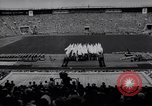 Image of opening ceremony of Olympics Kanto Japan, 1964, second 2 stock footage video 65675037536