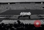 Image of opening ceremony of Olympics Kanto Japan, 1964, second 3 stock footage video 65675037536