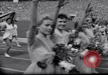 Image of opening ceremony of Olympics Kanto Japan, 1964, second 7 stock footage video 65675037536