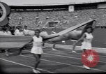 Image of opening ceremony of Olympics Kanto Japan, 1964, second 8 stock footage video 65675037536