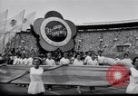 Image of opening ceremony of Olympics Kanto Japan, 1964, second 9 stock footage video 65675037536