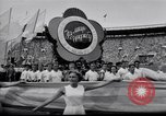 Image of opening ceremony of Olympics Kanto Japan, 1964, second 10 stock footage video 65675037536