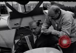 Image of Prince Philip Duke of Edinburgh at British National Glider Championships Hampshire England, 1967, second 8 stock footage video 65675037537
