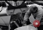 Image of Prince Philip Duke of Edinburgh at British National Glider Championships Hampshire England, 1967, second 10 stock footage video 65675037537