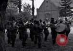 Image of General Courtney Hodges Torgau Germany, 1945, second 12 stock footage video 65675037539