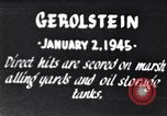 Image of Bombing of Gerolstein Germany by US bombers Gerolstein Germany, 1945, second 1 stock footage video 65675037591
