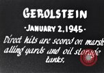Image of Bombing of Gerolstein Germany by US bombers Gerolstein Germany, 1945, second 3 stock footage video 65675037591
