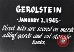 Image of Bombing of Gerolstein Germany by US bombers Gerolstein Germany, 1945, second 5 stock footage video 65675037591