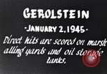 Image of Bombing of Gerolstein Germany by US bombers Gerolstein Germany, 1945, second 6 stock footage video 65675037591