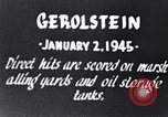 Image of Bombing of Gerolstein Germany by US bombers Gerolstein Germany, 1945, second 7 stock footage video 65675037591