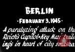 Image of American B-17 bombers attack Berlin Berlin Germany, 1945, second 7 stock footage video 65675037595