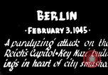 Image of American B-17 bombers attack Berlin Berlin Germany, 1945, second 9 stock footage video 65675037595